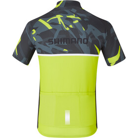 Shimano Team Jersey Herr yellow